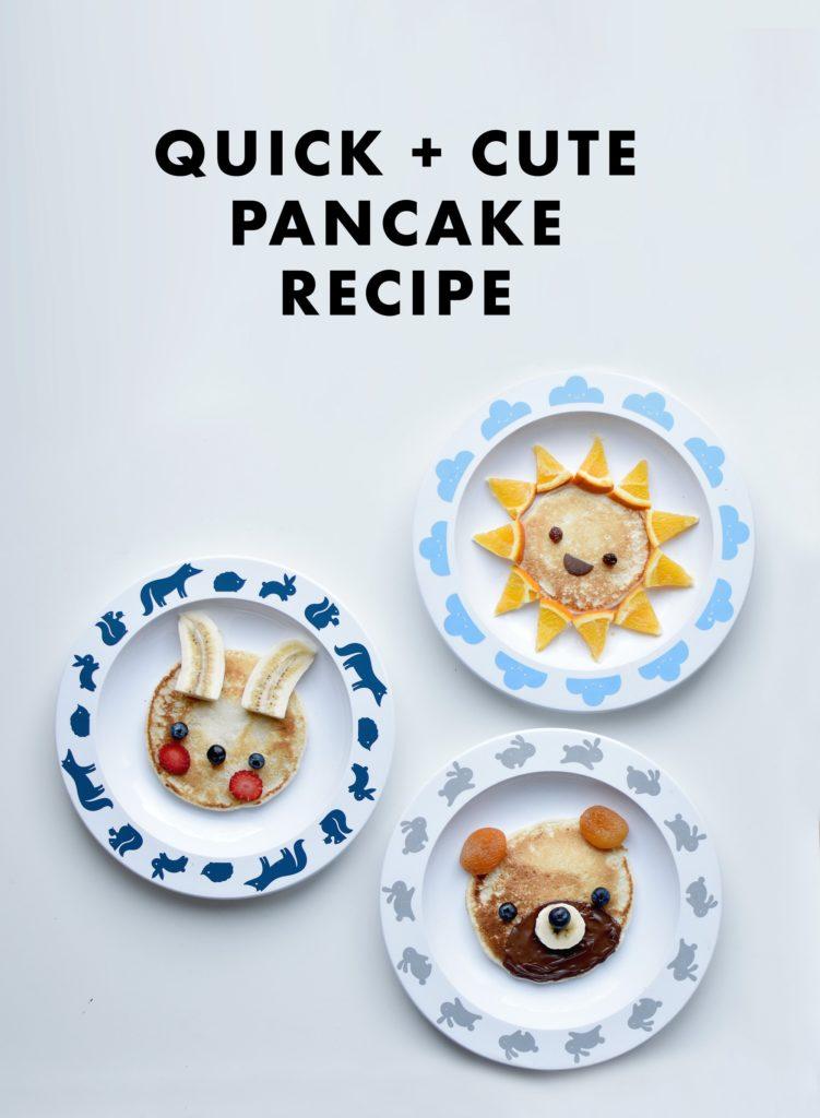 Easy Pancake Art Ideas for Kids 10