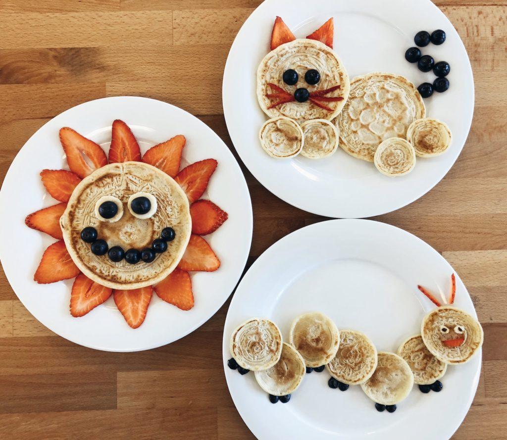 Easy Pancake Art Ideas for Kids 18