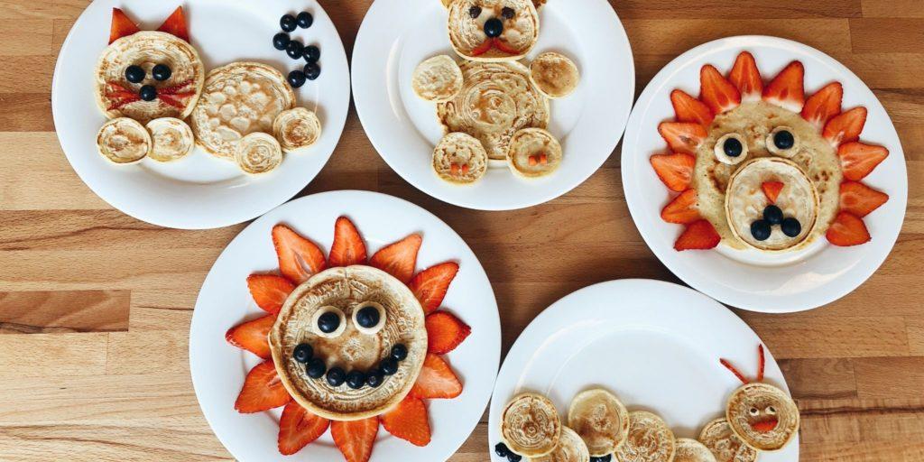 Easy Pancake Art Ideas for Kids 27