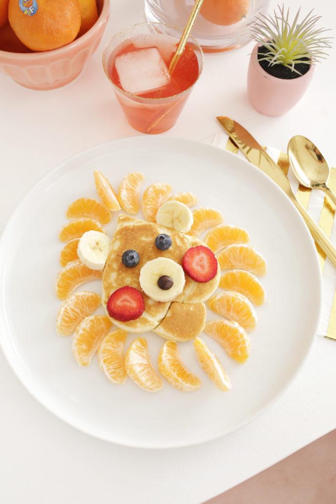 Easy Pancake Art Ideas for Kids 29
