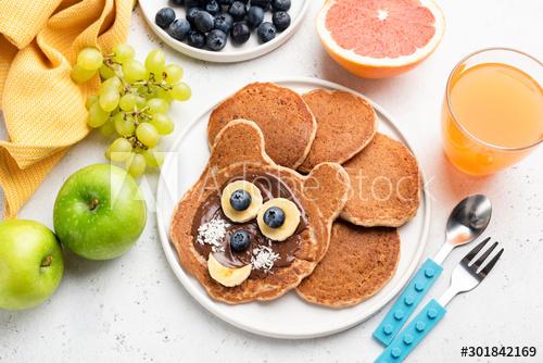 Easy Pancake Art Ideas for Kids 3