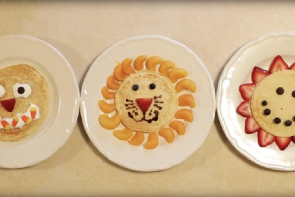 Easy Pancake Art Ideas for Kids 30