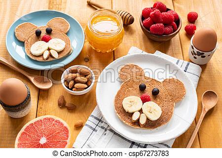 Easy Pancake Art Ideas for Kids 32