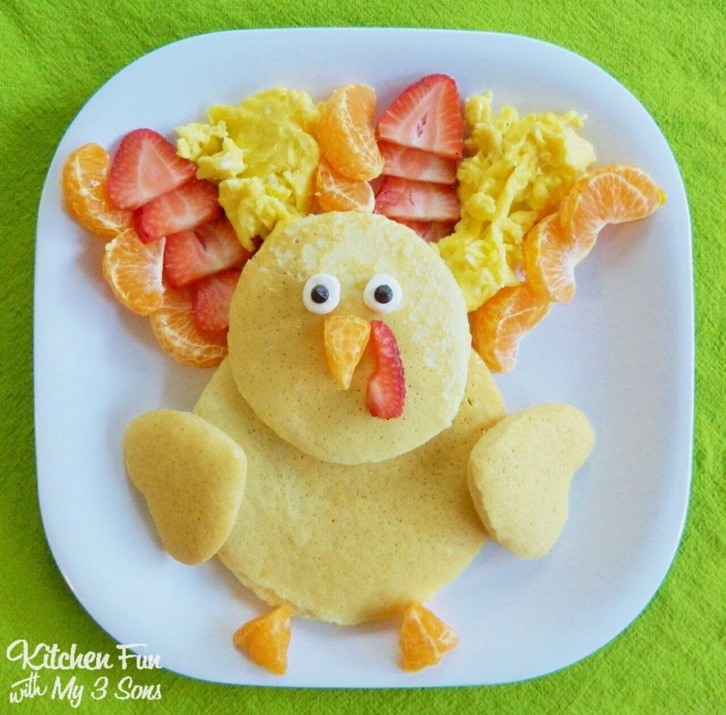 Easy Pancake Art Ideas for Kids 36