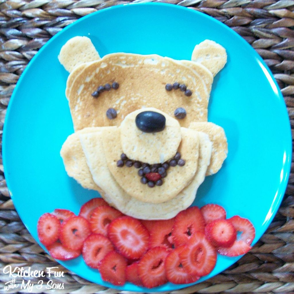 Easy Pancake Art Ideas for Kids 37