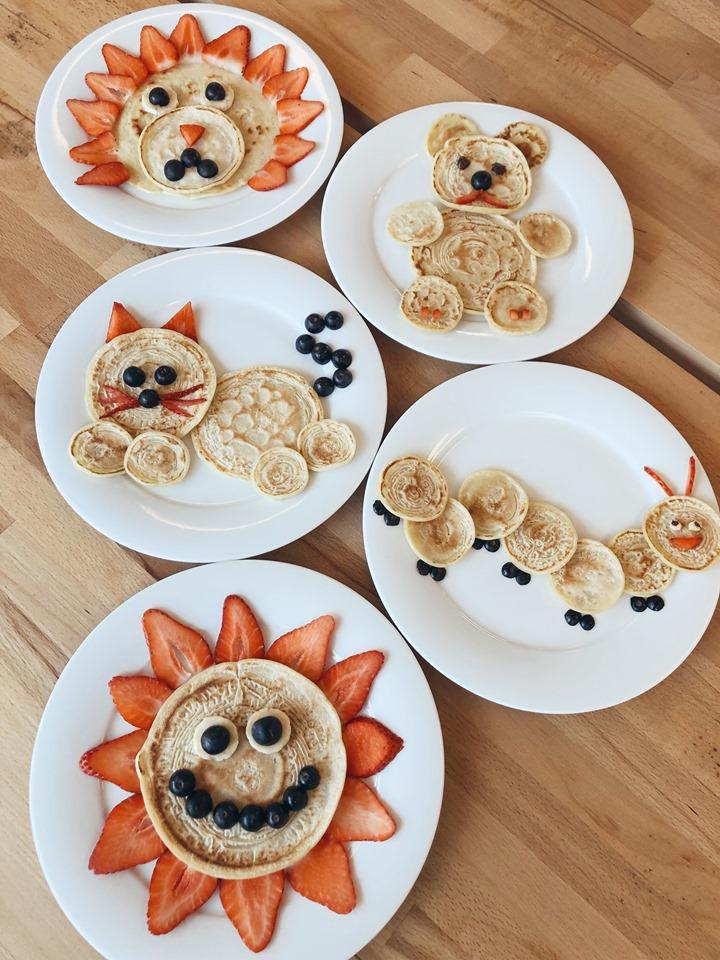Easy Pancake Art Ideas for Kids 4