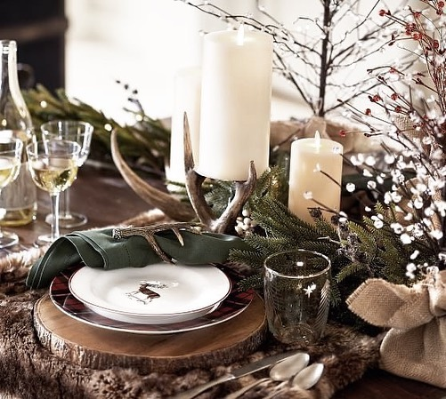 56 WONDERFUL AND CAREFUL CHRISTMAS TABLES Pictures 43