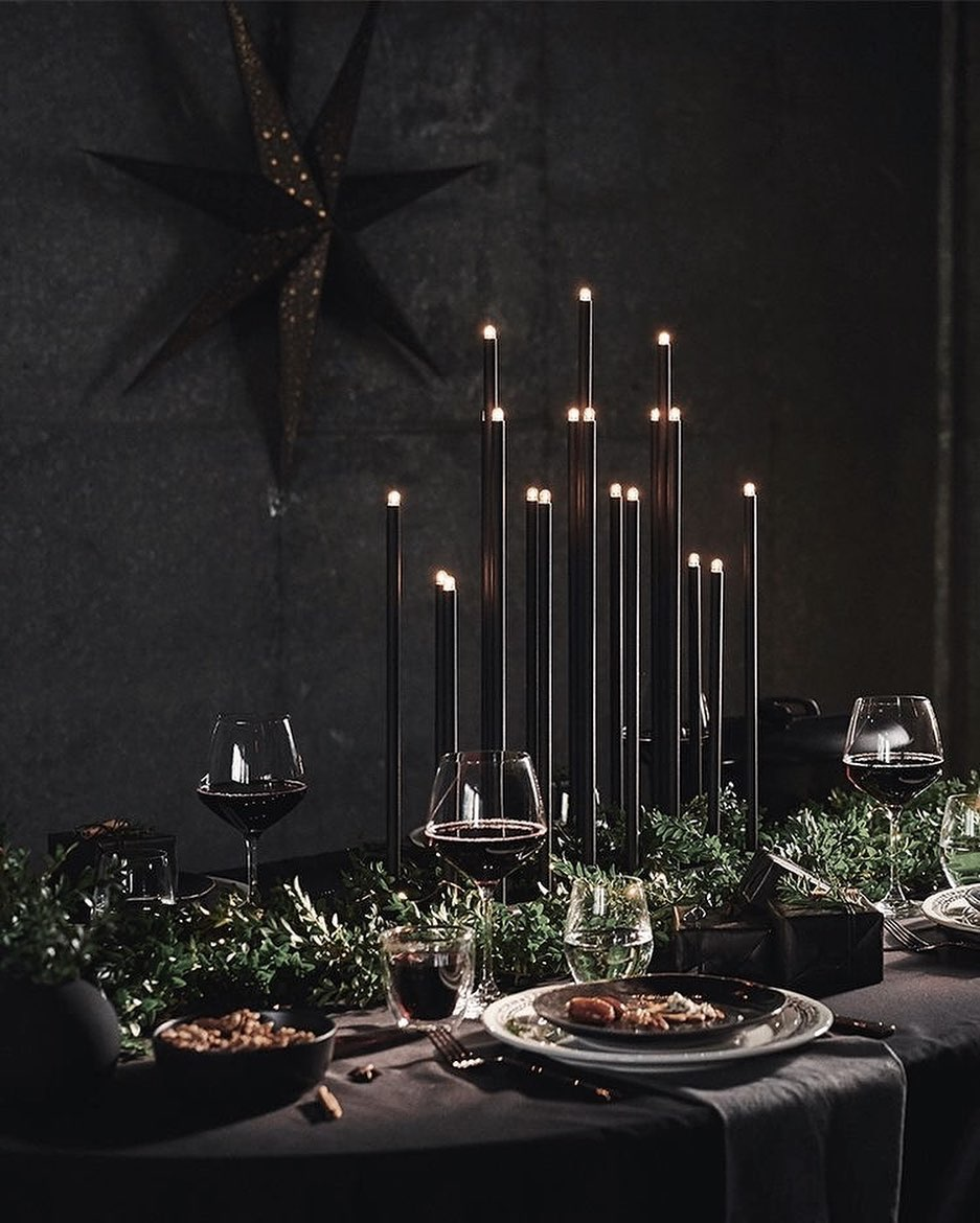 56 WONDERFUL AND CAREFUL CHRISTMAS TABLES Pictures 53