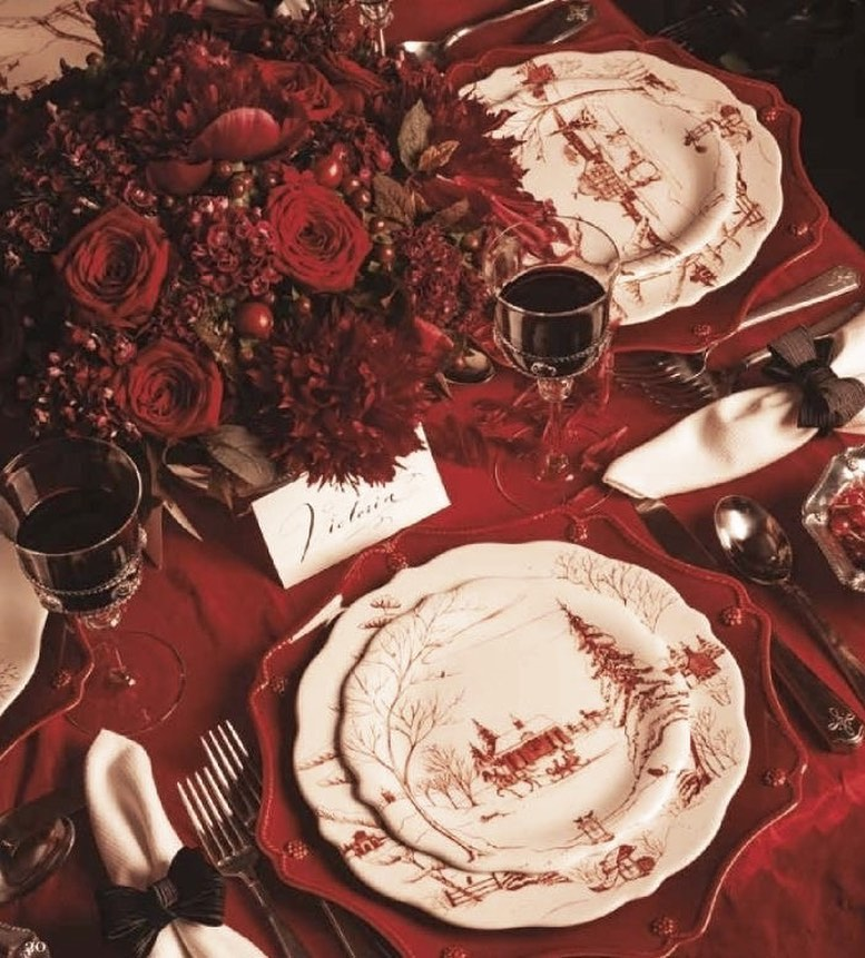 56 WONDERFUL AND CAREFUL CHRISTMAS TABLES Pictures 54