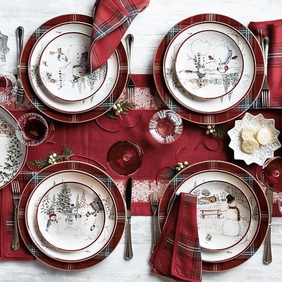 56 WONDERFUL AND CAREFUL CHRISTMAS TABLES Pictures 58