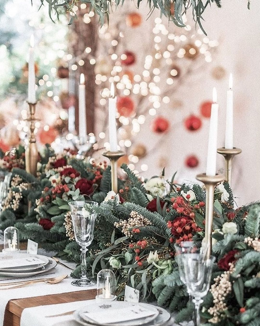 56 WONDERFUL AND CAREFUL CHRISTMAS TABLES Pictures 7