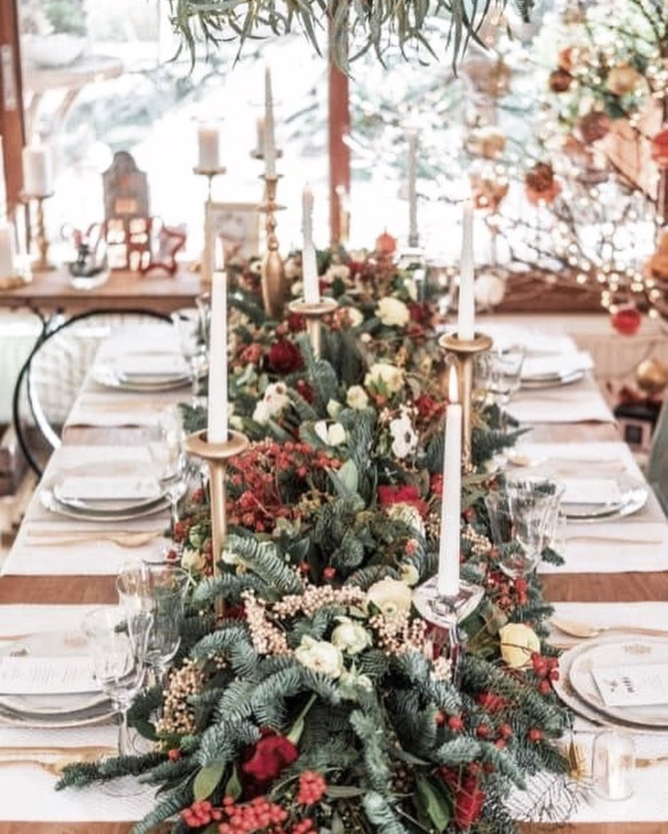 56 WONDERFUL AND CAREFUL CHRISTMAS TABLES Pictures 8