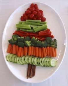 Beautiful Vegetable Plates for the New Year 4