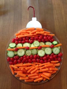 Beautiful Vegetable Plates for the New Year 9