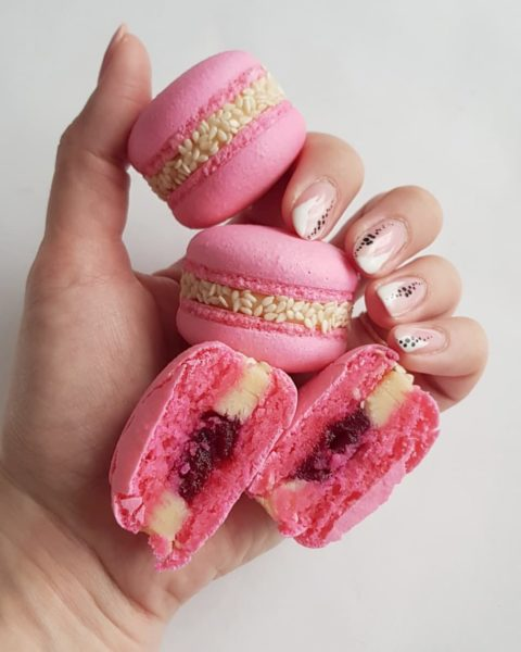 Small Desserts Made With Love and Macaron 344