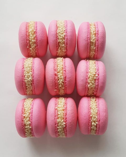 Small Desserts Made With Love and Macaron 346