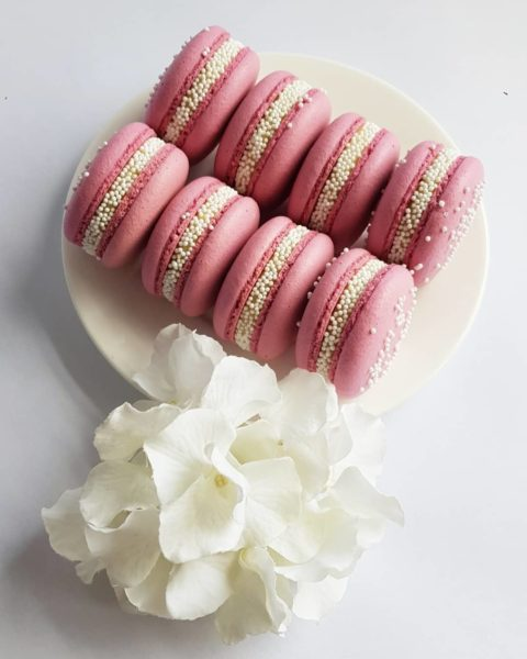 Small Desserts Made With Love and Macaron 476